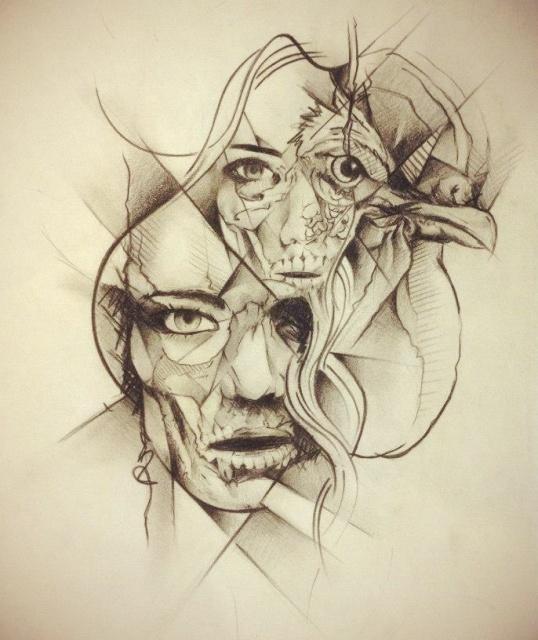 Оригинальные эскизы татуировок 6