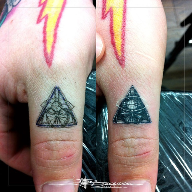эскизы тату на пальцы рук