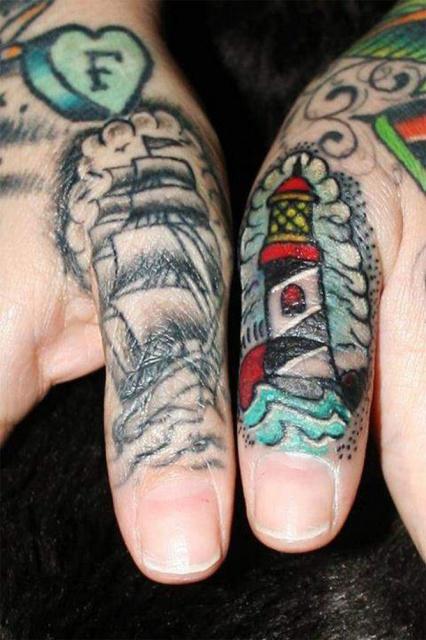 татуировки руки пальцы (12)