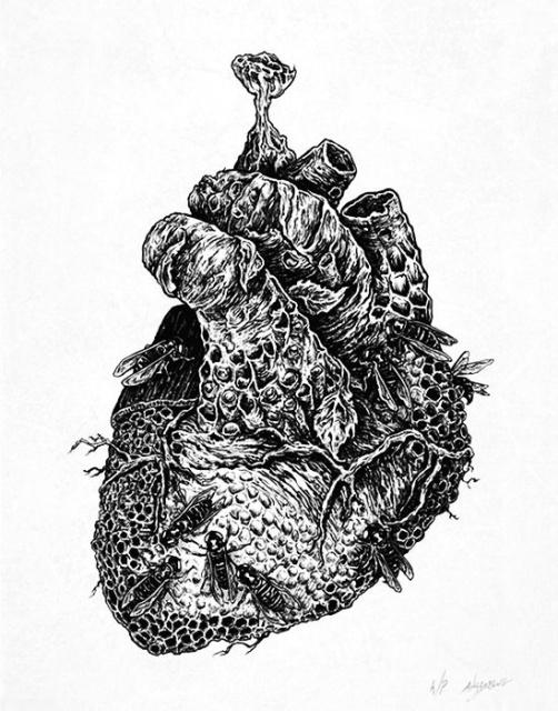 эскиз девушки череп (6)