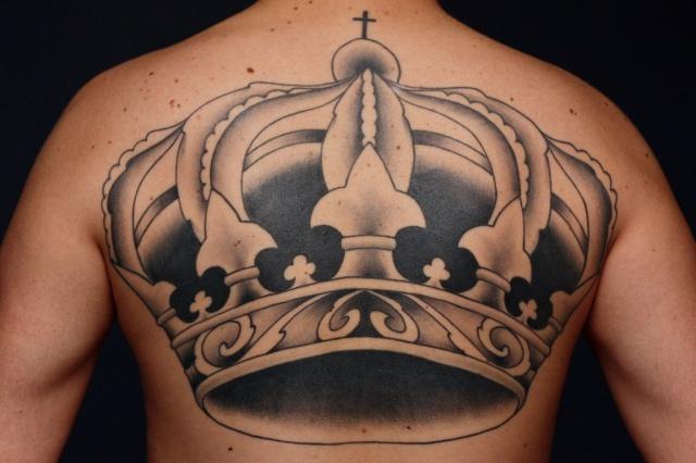 Татуировка корона (3)