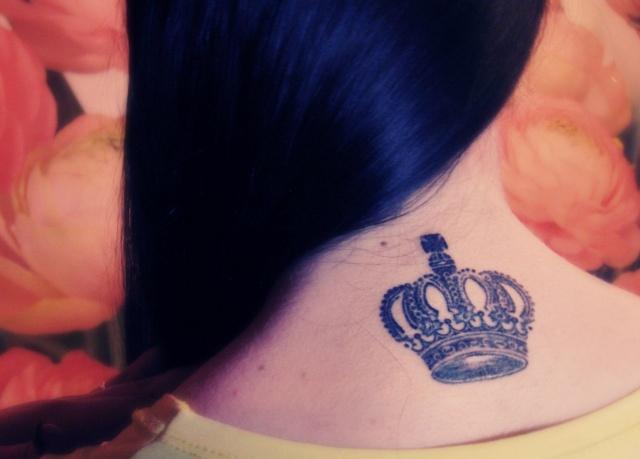 Татуировка корона (1)