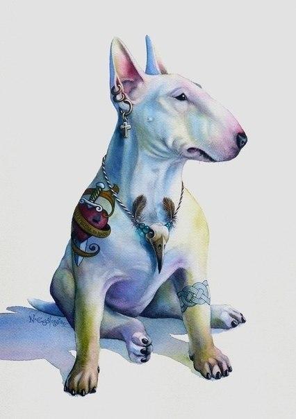 Татуировки собаки (4)