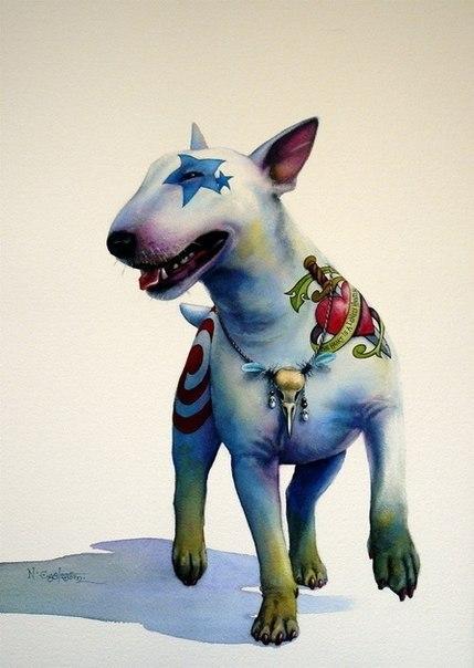 Татуировки собаки (6)