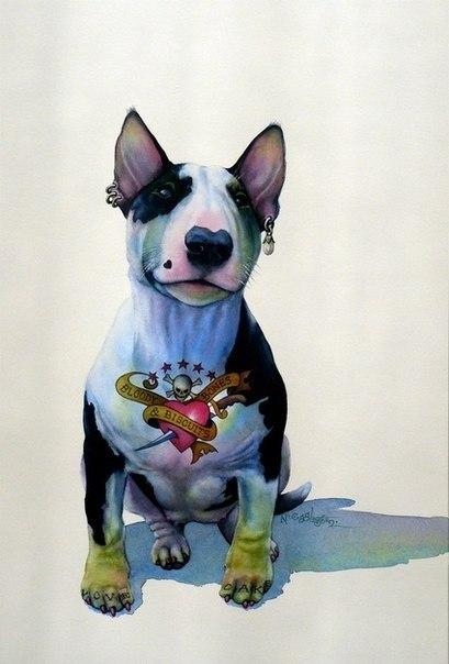 Татуировки собаки (7)