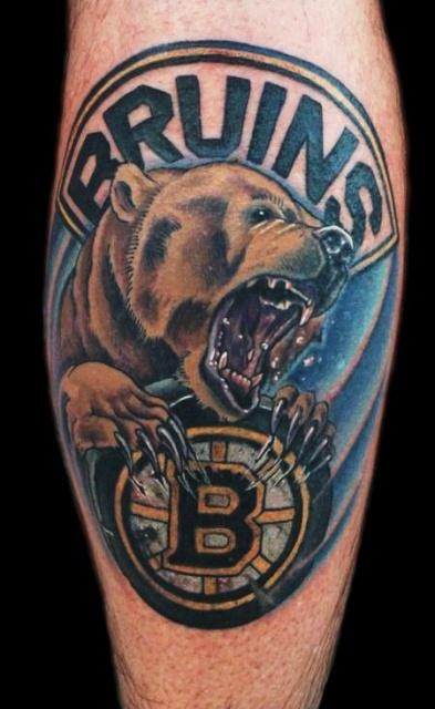 Татуировка медведь (7)