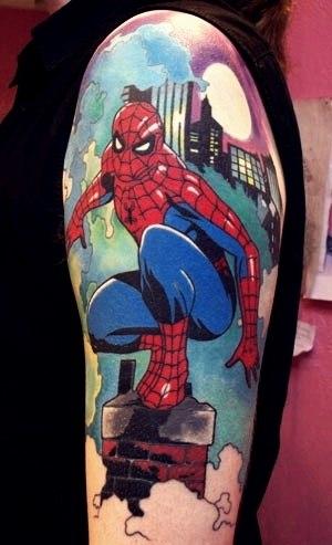татуировки комиксы (2)