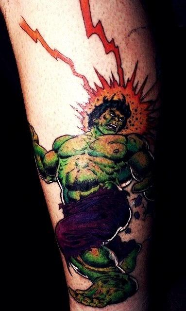 татуировки комиксы (3)