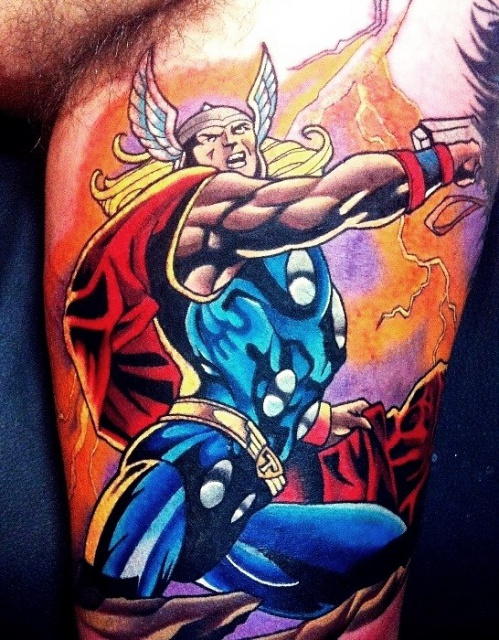 татуировки комиксы (4)
