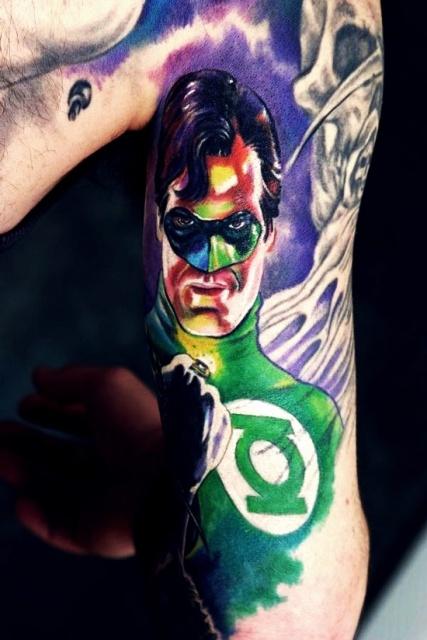 татуировки комиксы (7)