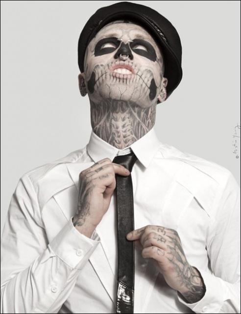 татуировки Зомби Бой (1)