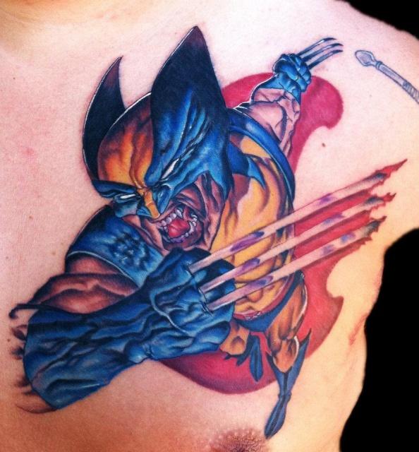 росомаха татуировки марвел (1)