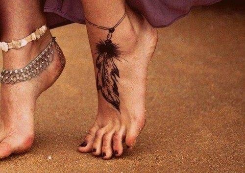 тату ноги (8)