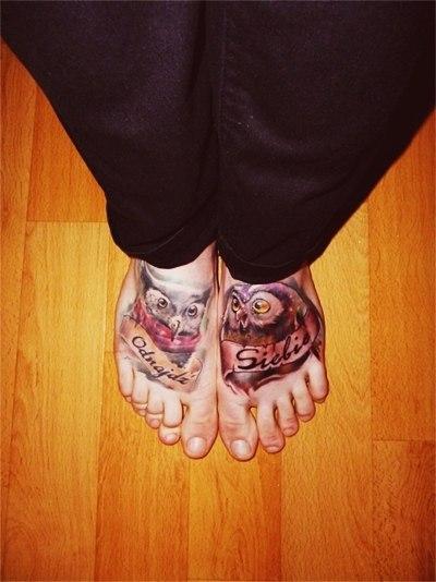 тату ноги (3)