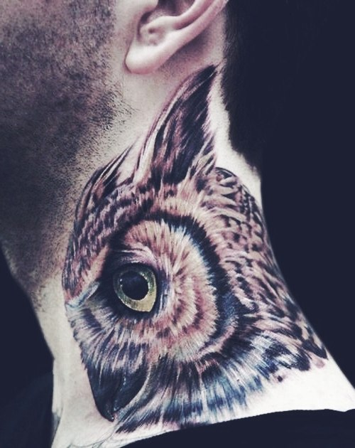 татуировки шея (1)