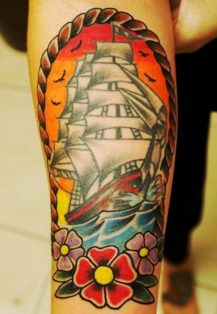 татуировки корабли (7)