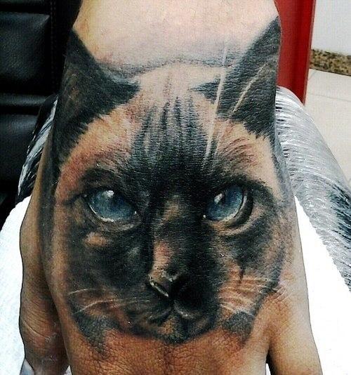 татуировки кот руки (6)