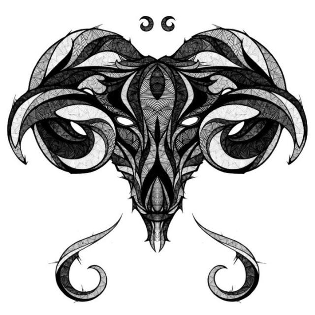 знаки зодиака эскизы (9)