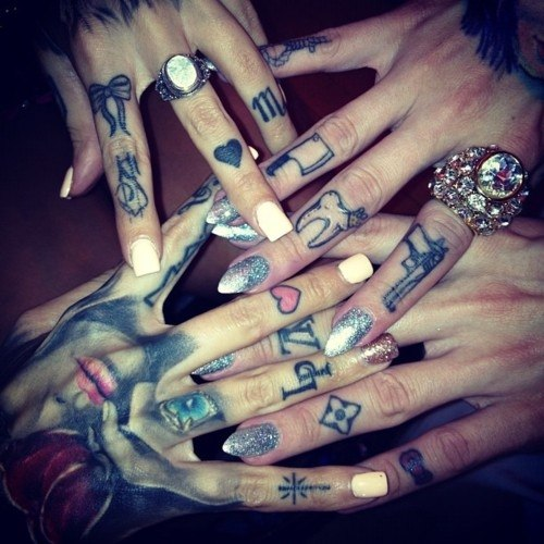 татуировки пальцы (5)