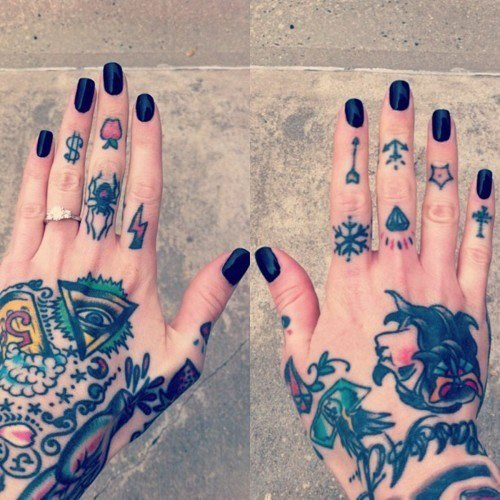татуировки пальцы (1)