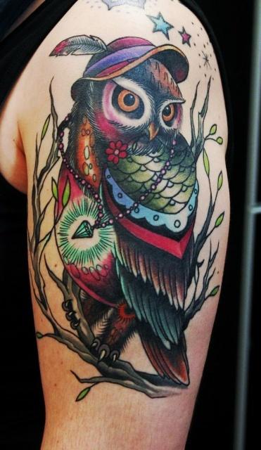 татуировки сова (1)