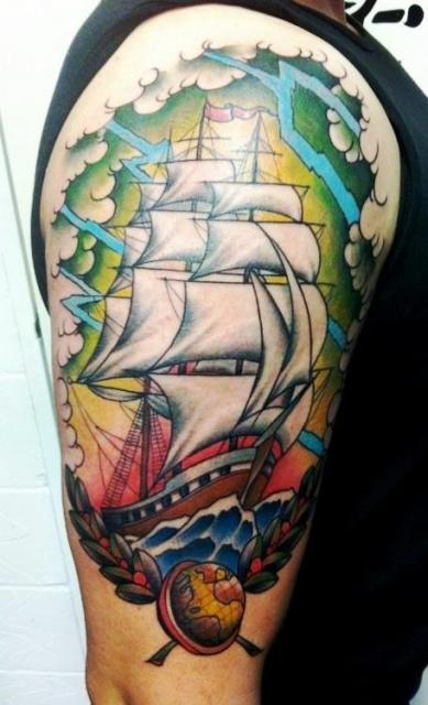 татуировки корабли (1)