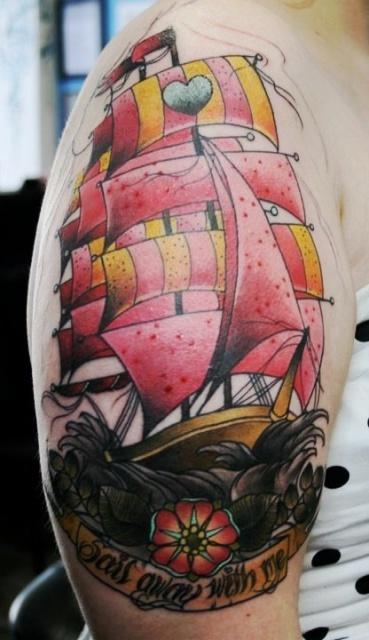 татуировки корабли (2)