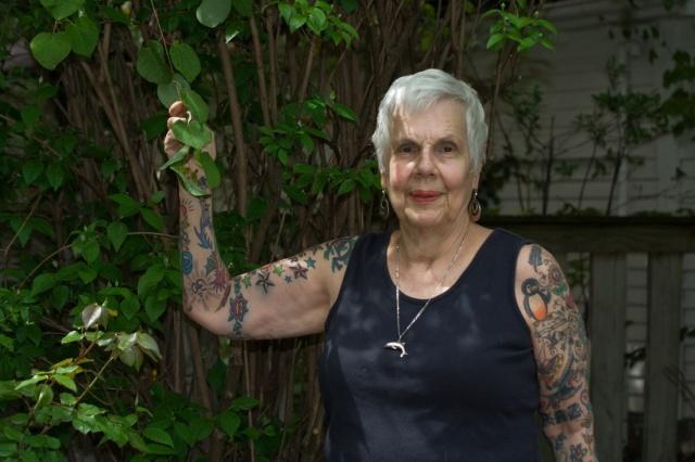 Бабушки в татуировках (3)