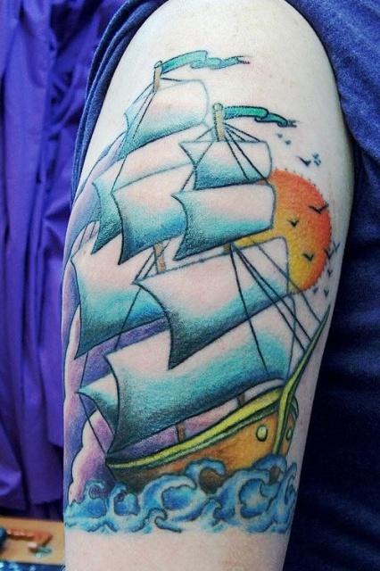 татуировки корабли (5)