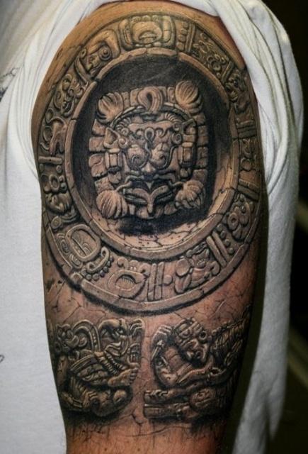татуировки 3D (3)