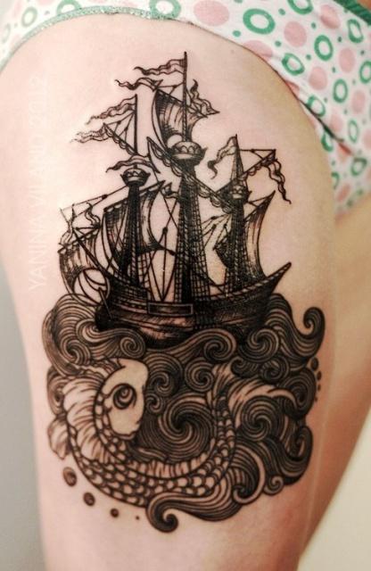 татуировки корабли (4)