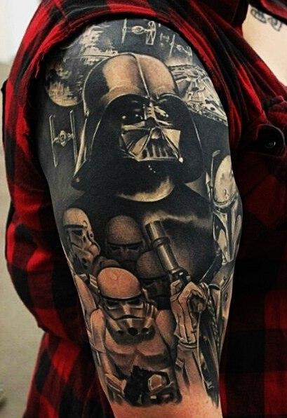 татуировки звездные войны (2)