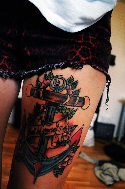 якорь татуировки (6)
