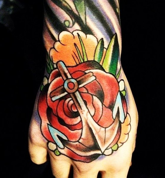 якорь татуировки (5)