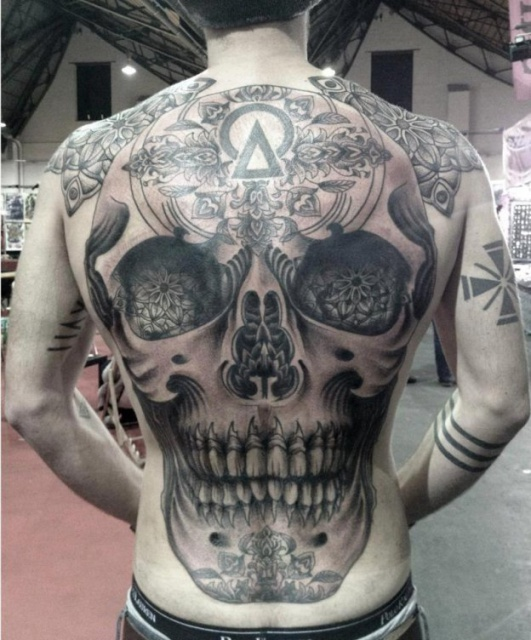 череп татуировки (6)