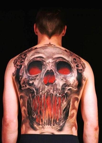 череп татуировки (1)