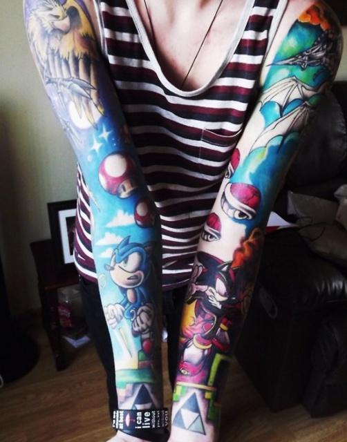 рукава руки татуировки (5)
