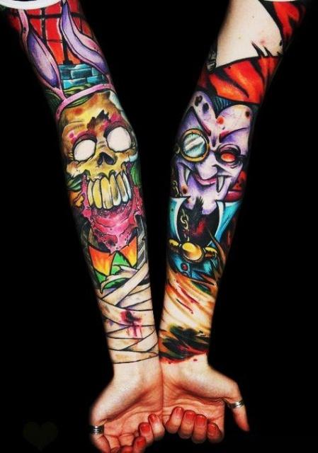 Рукава руки татуировки 4