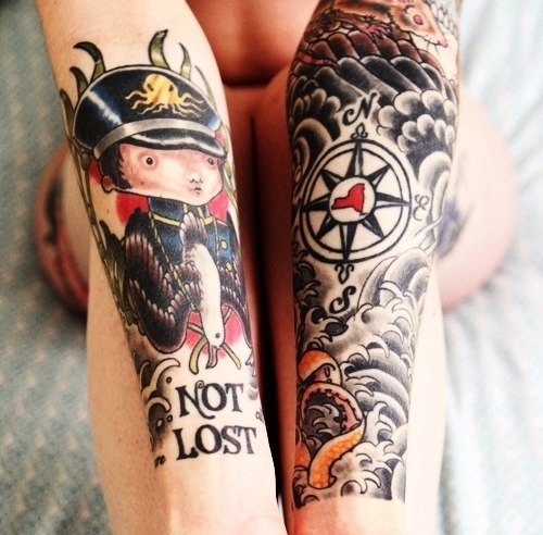 рукава татуировки (1)