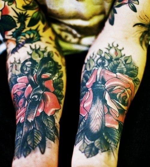 рукава татуировки (4)