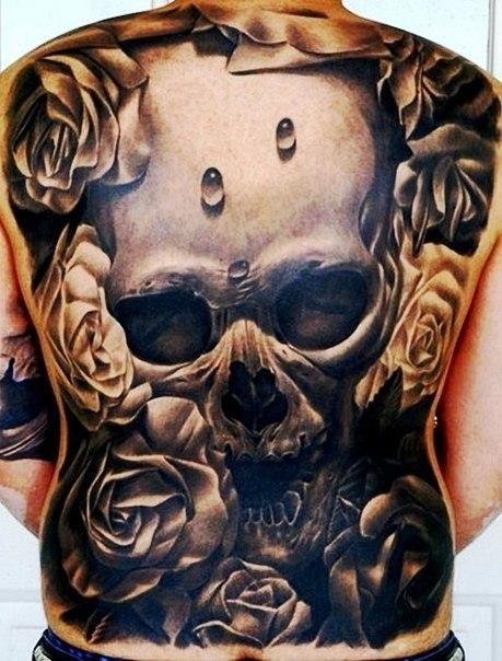 череп татуировки (5)