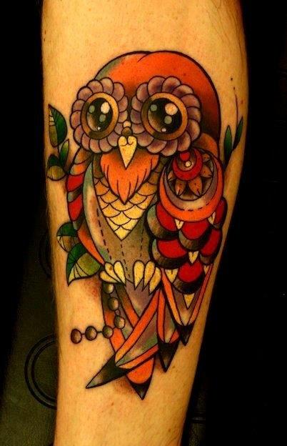 татуировка сова (4)