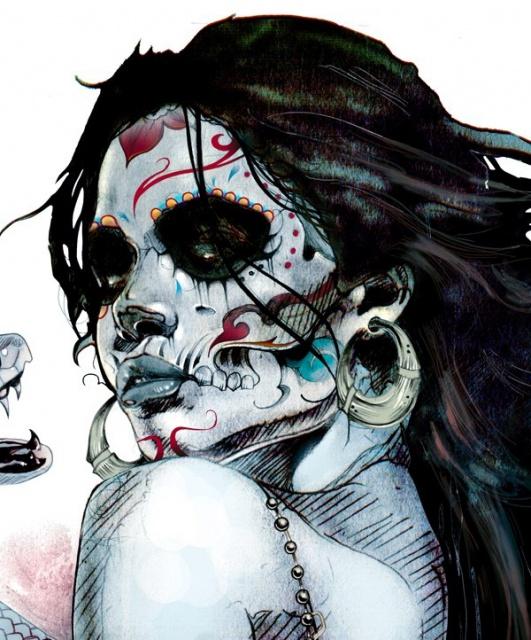цветные эскизы татуировки (3)