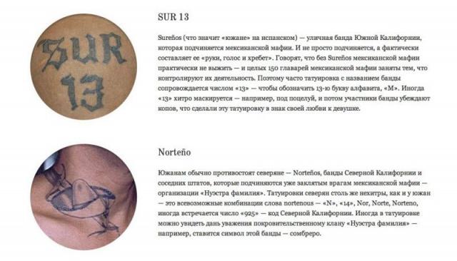 тюремные татуировки (16)