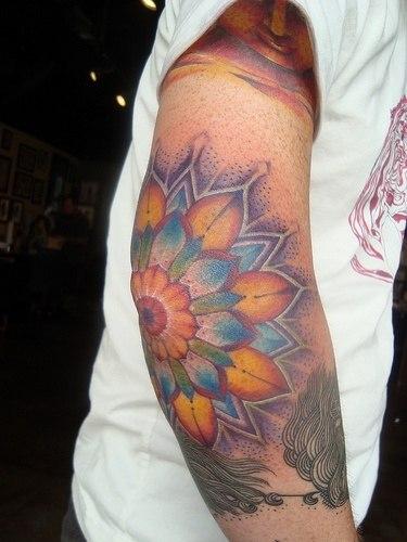 Татуировки на локтях (6)