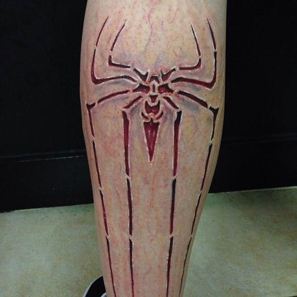 паук татуировка