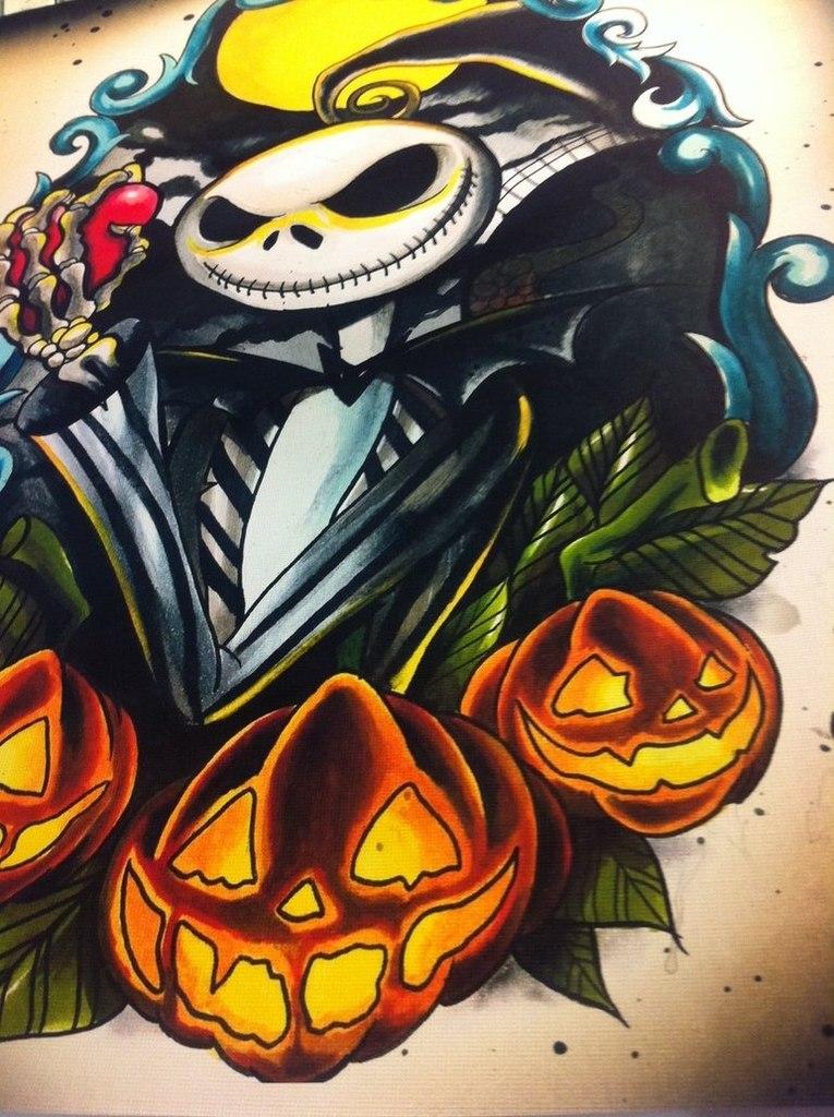 Эскиз на Хэллоуин