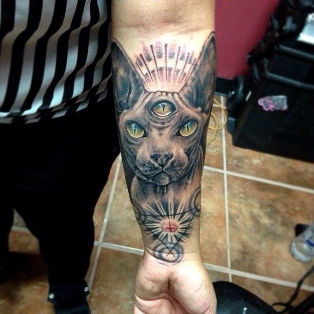Татуировки кота (4)
