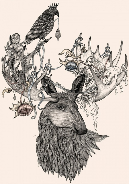 эскизы татуировок животных (5)