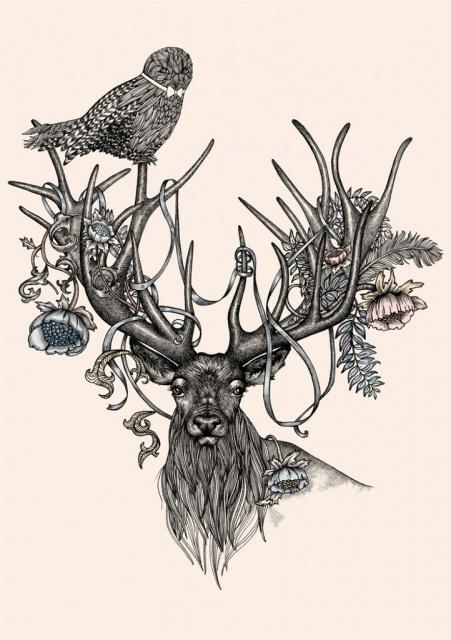 эскизы татуировок животных (1)